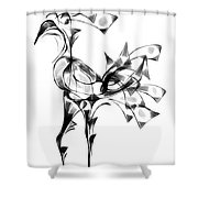 Abstraction 1810 Shower Curtain