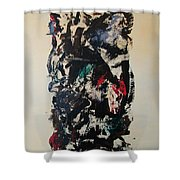 Abstraction 2 Shower Curtain