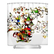 Abstraction 2175 Shower Curtain