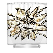 Abstraction 2252 Shower Curtain