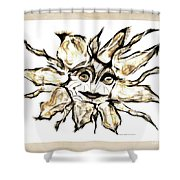 Abstraction 2253 Shower Curtain