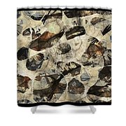 Abstraction 2323 Shower Curtain