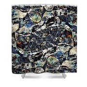 Abstraction 2326 Shower Curtain