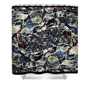Abstraction 2327 Shower Curtain