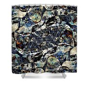 Abstraction 2329 Shower Curtain