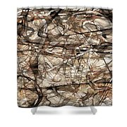 Abstraction 2339 Shower Curtain