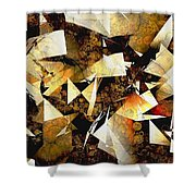 Abstraction 2399 Shower Curtain