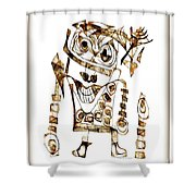 Abstraction 2421 Shower Curtain