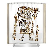 Abstraction 2422 Shower Curtain