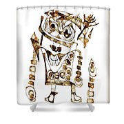 Abstraction 2423 Shower Curtain