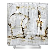 Abstraction 2426 Shower Curtain