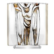 Abstraction 2428 Shower Curtain