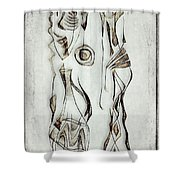 Abstraction 2823 Shower Curtain