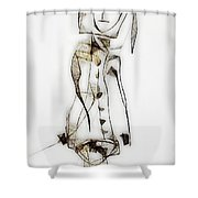 Abstraction 2834 Shower Curtain