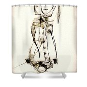 Abstraction 2840 Shower Curtain