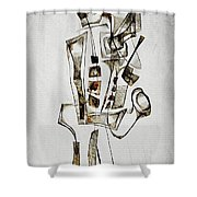 Abstraction 2845 Shower Curtain