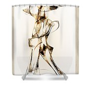 Abstraction 2915 Shower Curtain