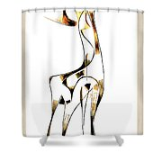 Abstraction 2919 Shower Curtain
