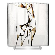 Abstraction 2922 Shower Curtain