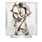 Abstraction 2924 Shower Curtain