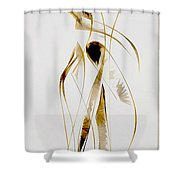 Abstraction 2934 Shower Curtain