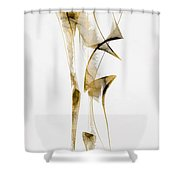 Abstraction 2937 Shower Curtain