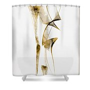 Abstraction 2938 Shower Curtain