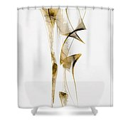 Abstraction 2939 Shower Curtain