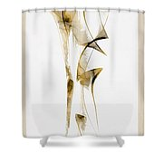 Abstraction 2940 Shower Curtain