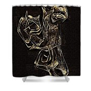 Abstraction 2969 Shower Curtain
