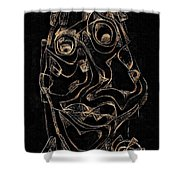 Abstraction 2978 Shower Curtain