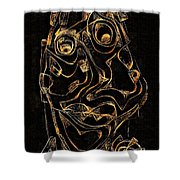 Abstraction 2979 Shower Curtain