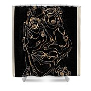 Abstraction 2982 Shower Curtain