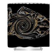 Abstraction 2983 Shower Curtain