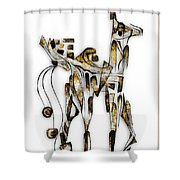 Abstraction 3090 Shower Curtain