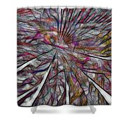 Abstraction 3096 Shower Curtain