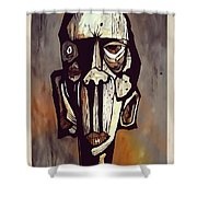 Abstraction 3294 Shower Curtain