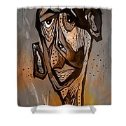 Abstraction 3297 Shower Curtain