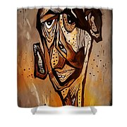 Abstraction 3299 Shower Curtain