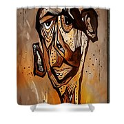 Abstraction 3300 Shower Curtain