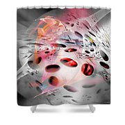 Abstraction 3304 Shower Curtain