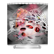 Abstraction 3306 Shower Curtain