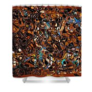 Abstraction 3375 Shower Curtain