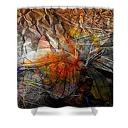Abstraction 3415 Shower Curtain