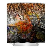 Abstraction 3416 Shower Curtain