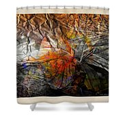 Abstraction 3417 Shower Curtain