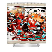 Abstraction 3426 Shower Curtain