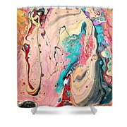 Abstraction #36  Shower Curtain