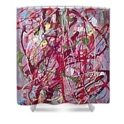 Abstraction 47 Shower Curtain