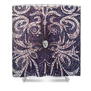 Abstraction 7 Shower Curtain